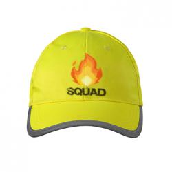 czapki odblaskowe z nadrukiem 1
